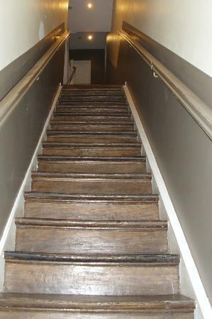 Downtown-BXL: la scalinata dell'entrata