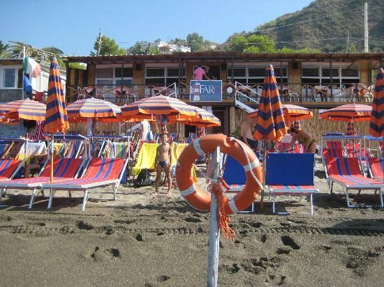 Hotel La Mandorla: Il stabilimento balneare