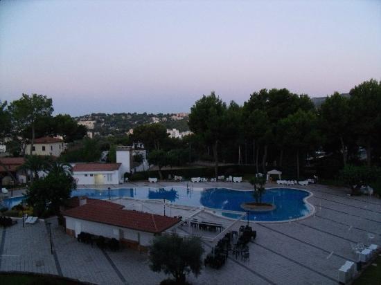 BQ Belvedere Hotel: 6am in the morning