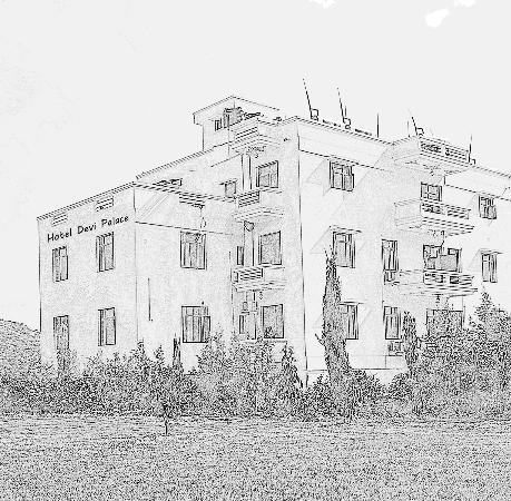 Hotel Devi Palace: Sketch