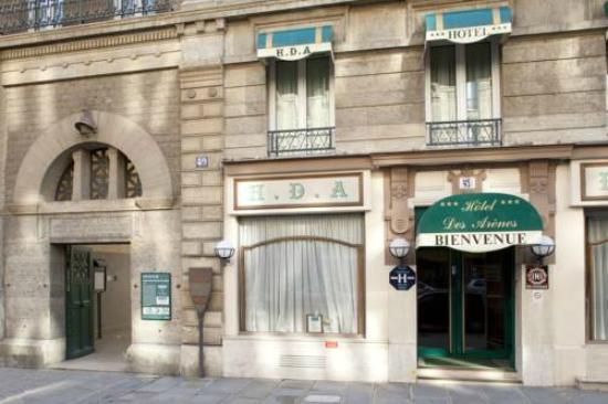 Hotel des Arenes : Entrada do Hotel