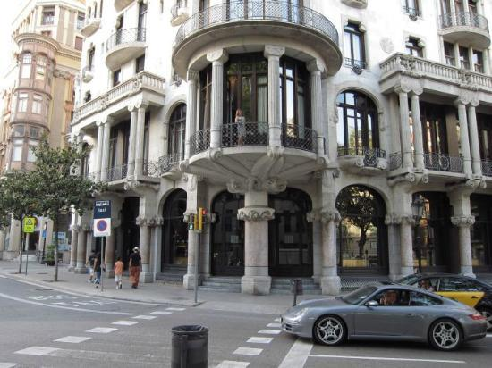 Casa Fuster Hotel: that's me on the balcony - so you know where suite 110 is !