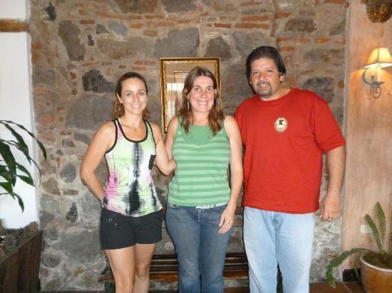 Hotel EuroMaya Suites: Marcela, Mirèn Dueña de EuroMaya y Sergio
