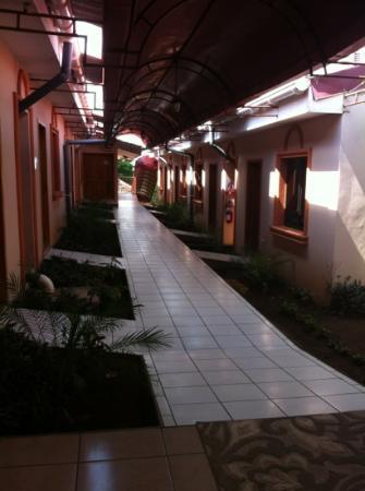 Hotel Brial Plaza: hallway
