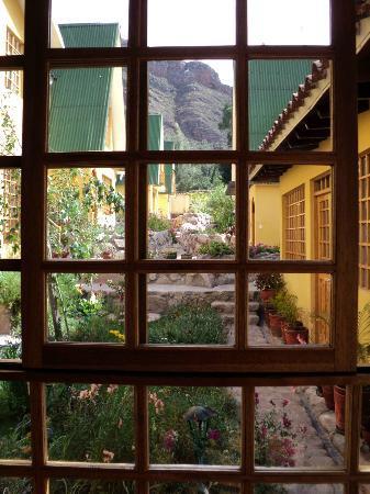 Amaru Valle Hotel: desde las ventanas del comedor