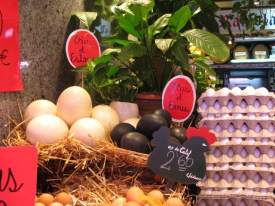 A Taste of Spain : Ostrich and Emu eggs