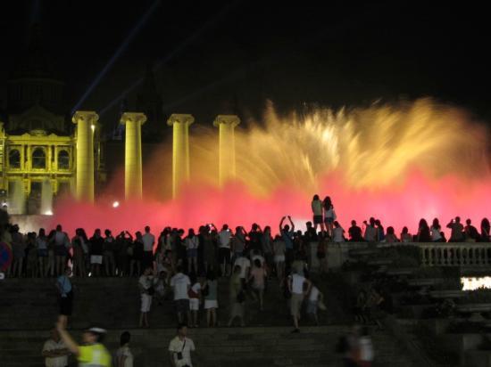 A Taste of Spain : Magic Fountain of Montjuïc
