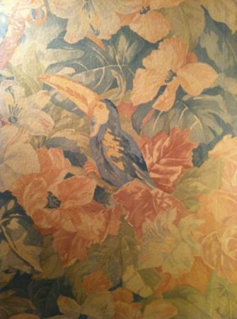 Hotel Saint Jean: papier peint d'époque