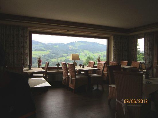 Allgauer Panoramahotel: Innenansicht Restaurant