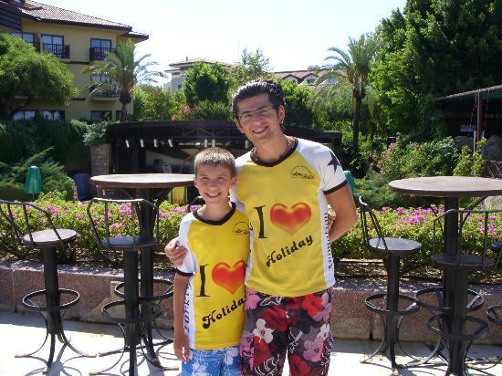 Alba Resort Hotel: animation team/osman