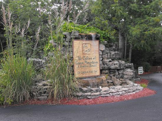 Cabins at Green Mountain: Entrance
