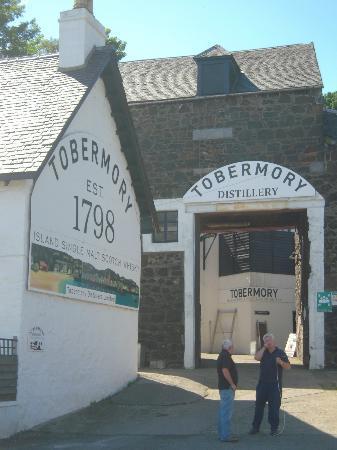 Tobermory Distillery: la distilleria