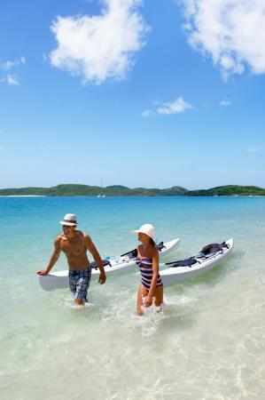Reef View Hotel: Whitehaven Beach Kayaking