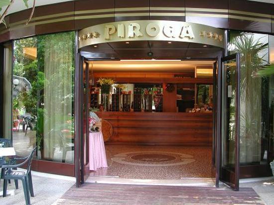 Hotel Piroga Padova : Ingresso hotel