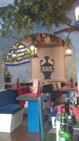 Restaurante Poseidon: sala interna
