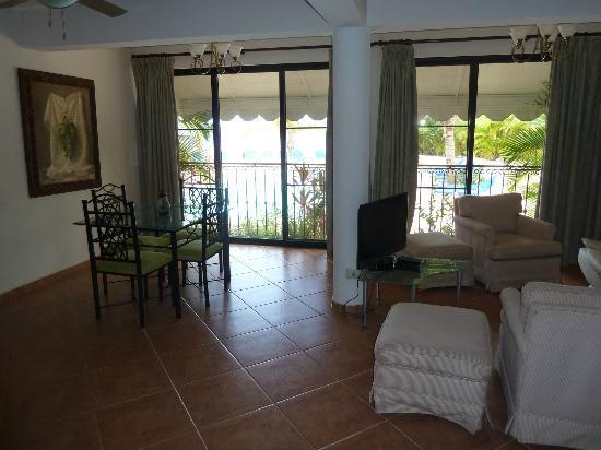 Sosua Paradise: Living room