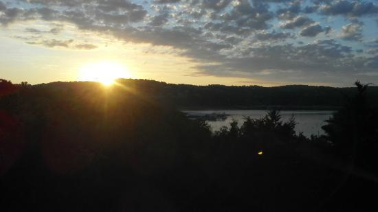 Village At Indian Point: sun rise from our deck