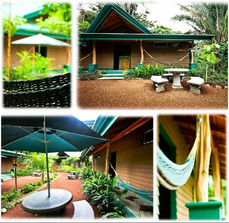 Paspartu CR Beach Hotel: Hammocks, tables, gardens, it's a beach oasis!