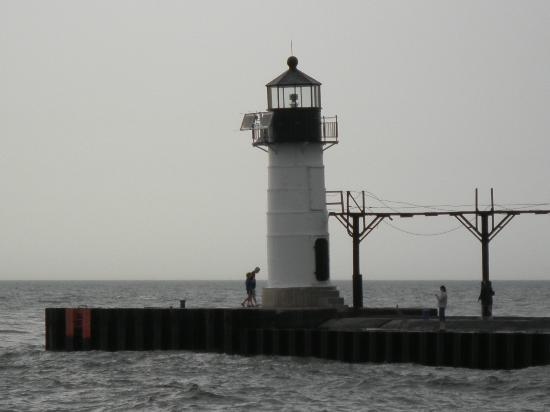 The Lighthouse At Silver Beach St Joseph Mi Picture Of