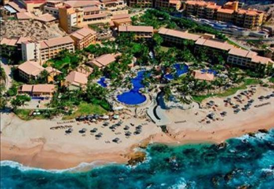 Grand Fiesta Americana Los Cabos All Inclusive Golf & Spa: Aerial View