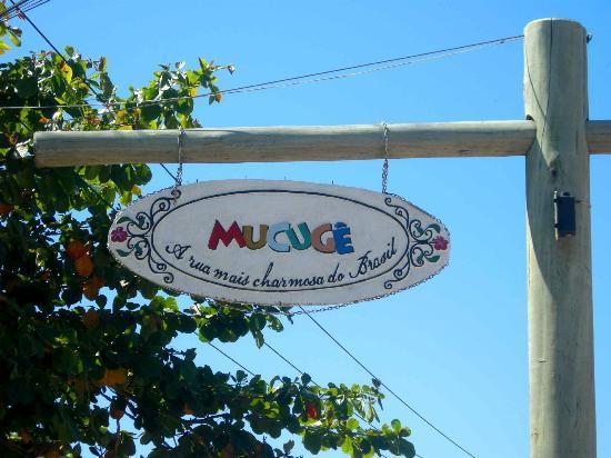 Mucuge Street: el cartel de entrada a la calle