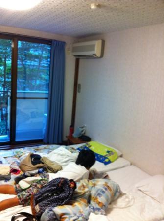 Pension Manbo : 部屋の中 三人で泊まりました