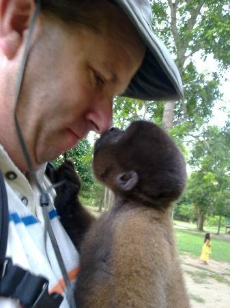 La Fuente del Amazonas Lodge : Reception Staff