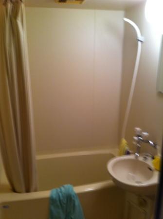 Pension Manbo : 部屋にバストイレ付きです 一階のお風呂がお勧めです