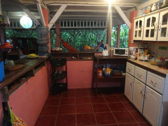 Hidden Jungle Beach House: The kitchen