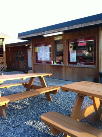 Helen's Corral Drive-In: order here