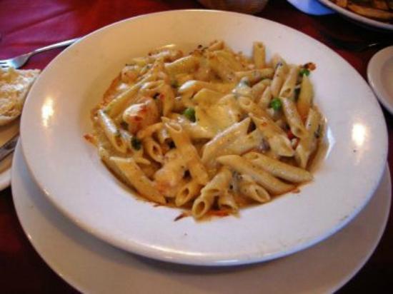 Malone, Estado de Nueva York: Baked seafood and pasta.