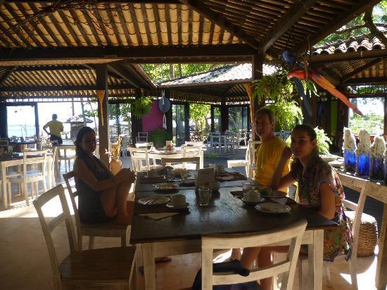 Estrela do Mar: interior restaurante