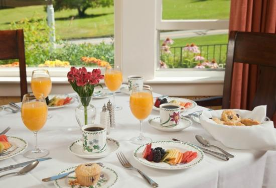 Sugar Hill Inn: Breakfast
