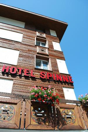 Hotel Spinne, from the outside