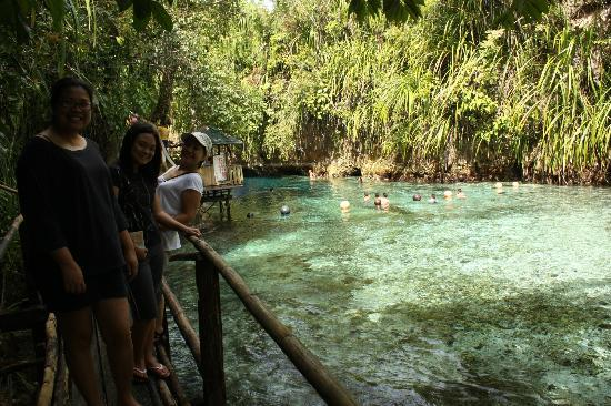 Enchanted River: photo at the walkway