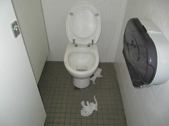 Wake Up! Sydney: Eine der Toiletten im 4.Stock