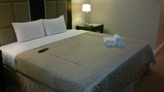 Somerset Millennium Makati: Bed