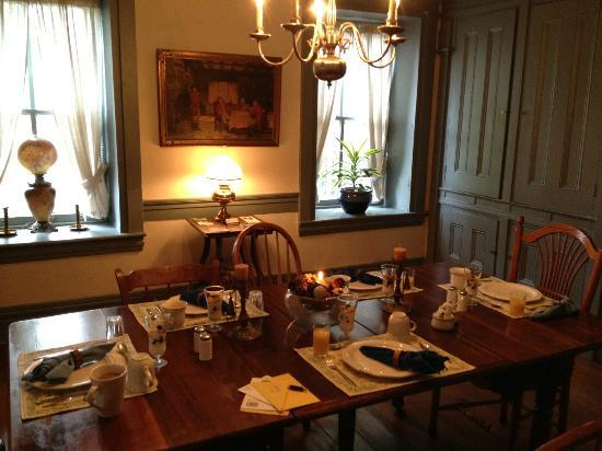 Stone Manse Inn: Breakfast!