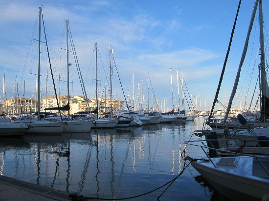 Mercure Thalassa Port Frejus: The marina