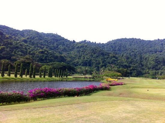 Nexus Resort Golf Course : Out No.1