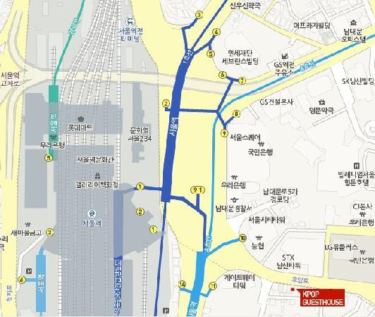 MAP Picture of KPop Guesthouse Seoul Station Seoul TripAdvisor