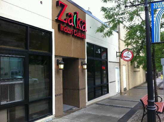 Zaika Indian Cuisine: facade