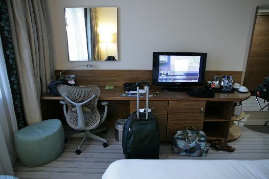 Hilton Garden Inn Hotel Krakow: Work area