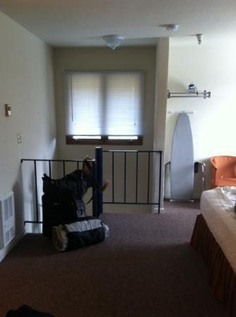 Hotel Solares: one side of room from second floor