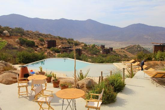 Encuentro Guadalupe: the view from the restaurant
