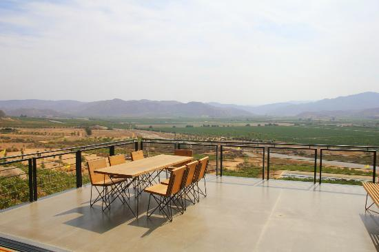 Encuentro Guadalupe: The view from the lobby