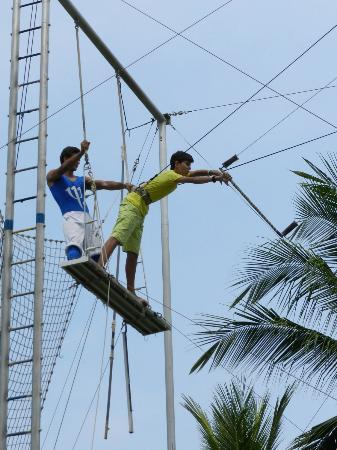 Club Med Ixtapa Pacific: Trapeze Circus for all ages