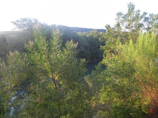 Hideout on the Horseshoe: View