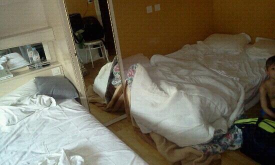 Hotel du Cygne: le lit des enfants
