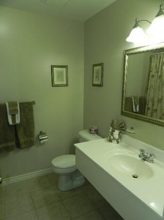 Adventure the Bruce Inn: Spotless bathroom